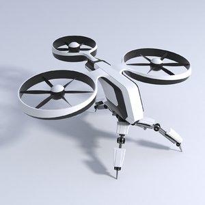 dron drone model