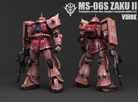 3D ms-06s zaku ii model