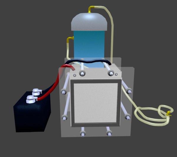3D hydrogen generator