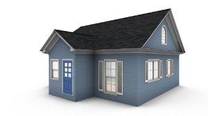 bungalow house 3D model