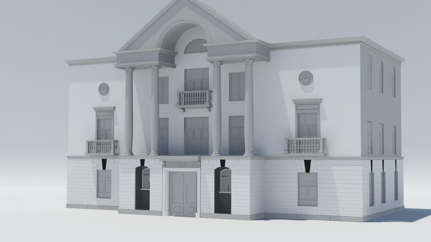 old building2 3D model