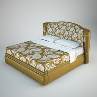 3D model turri bed