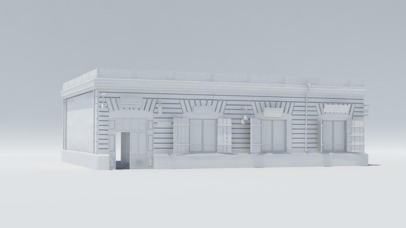 old building3 model
