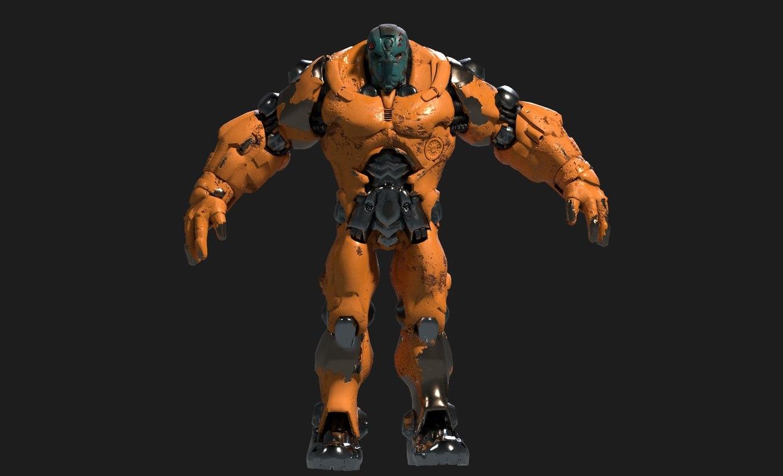 mecha robot model