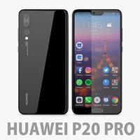 huawei pro p 3D model