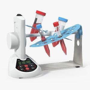 lab rotating mixer 3D model