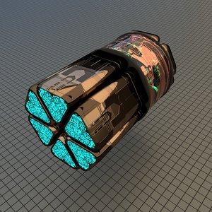 spaceship drive model