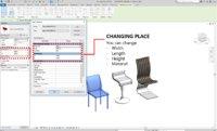 parametric chair 3D