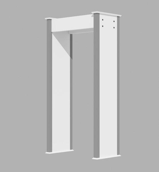 3D metal detector door