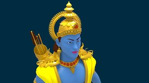 lord ram 3D