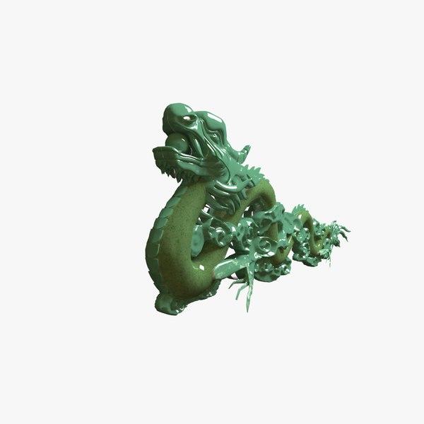 jade dragon 3D model