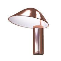 table lamp designer copper 3D model