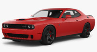 dodge challenger srt hellcat 3D model