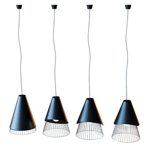 pendant lamp section model