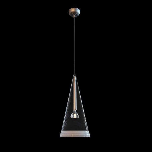3D suspension lamp model