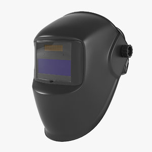 welding helmet 3D model
