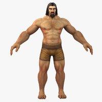 world warcraft male human model