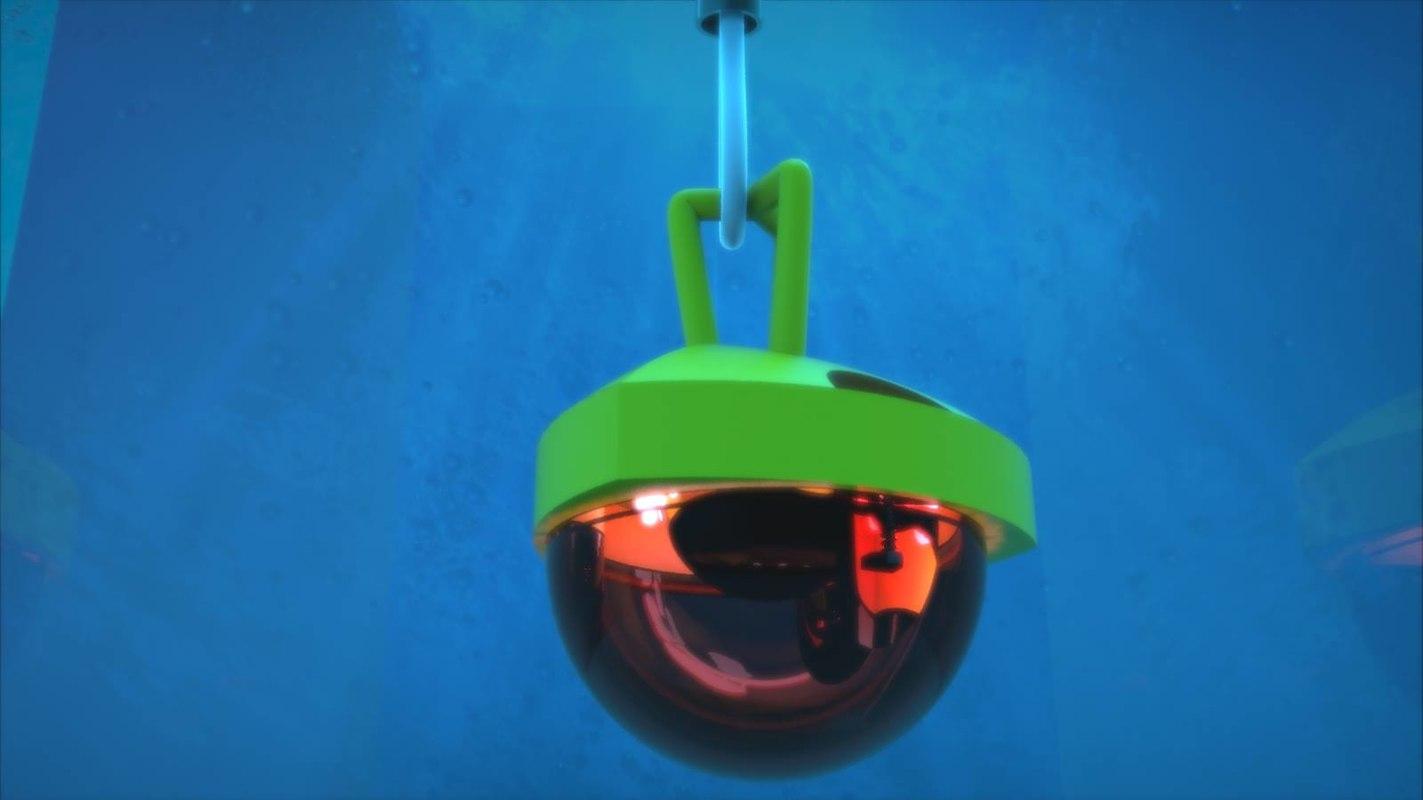 3D underwater light