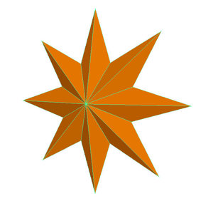 3D star 8