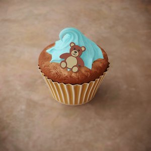 3D model cute teddy bear