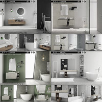 3D bathroom furniture 4 e