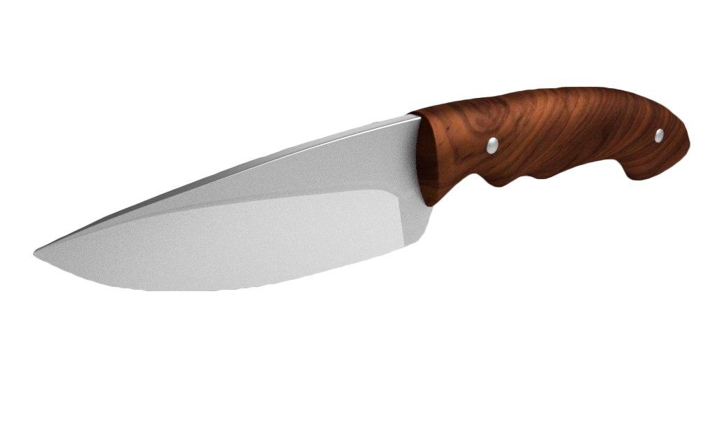 hunting knife 3D model