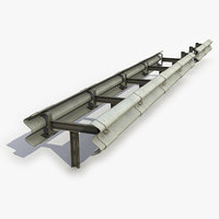 3D highway guardrail modular