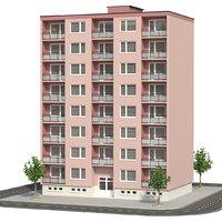 3D panel building architecture