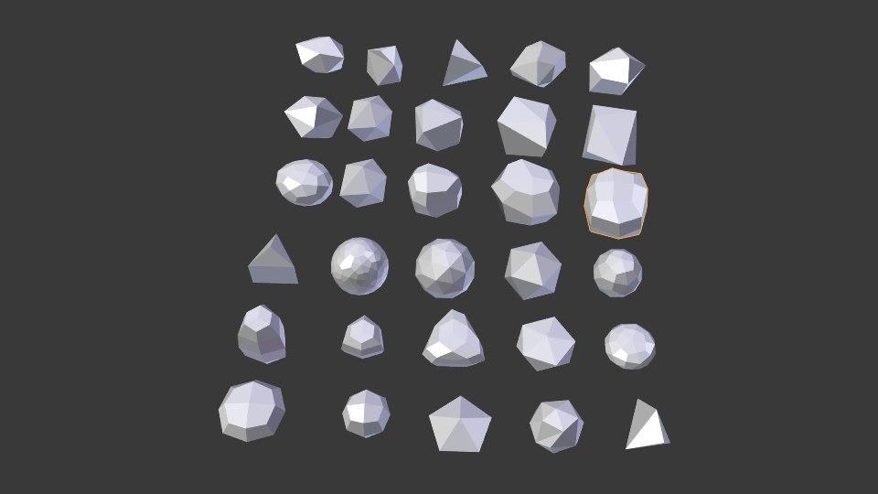 rock nature 3D model