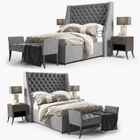 3D elgar bed sofa chair