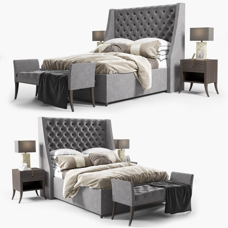 3D elgar bed sofa chair