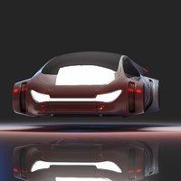 Futuristic Car 7