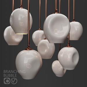 3D branching bubble lindsey adelman model