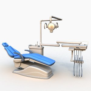 dental chair 3D