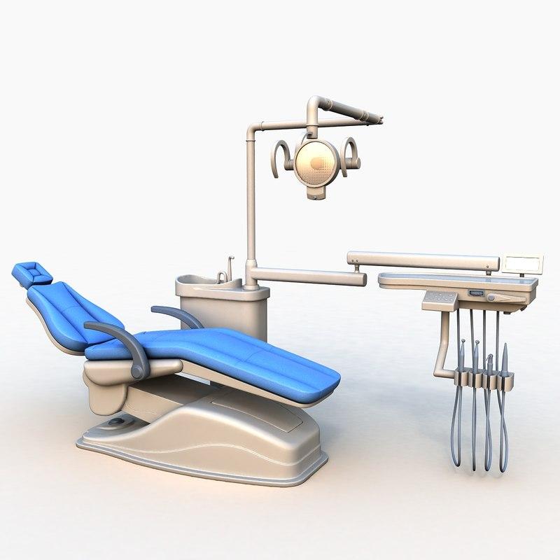 dental chair 3D