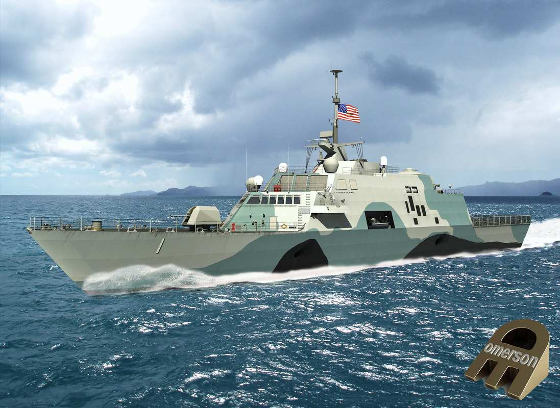 3D uss freedom lcs