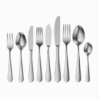 common cutlery set 9 3D model