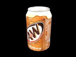 3D drinks model