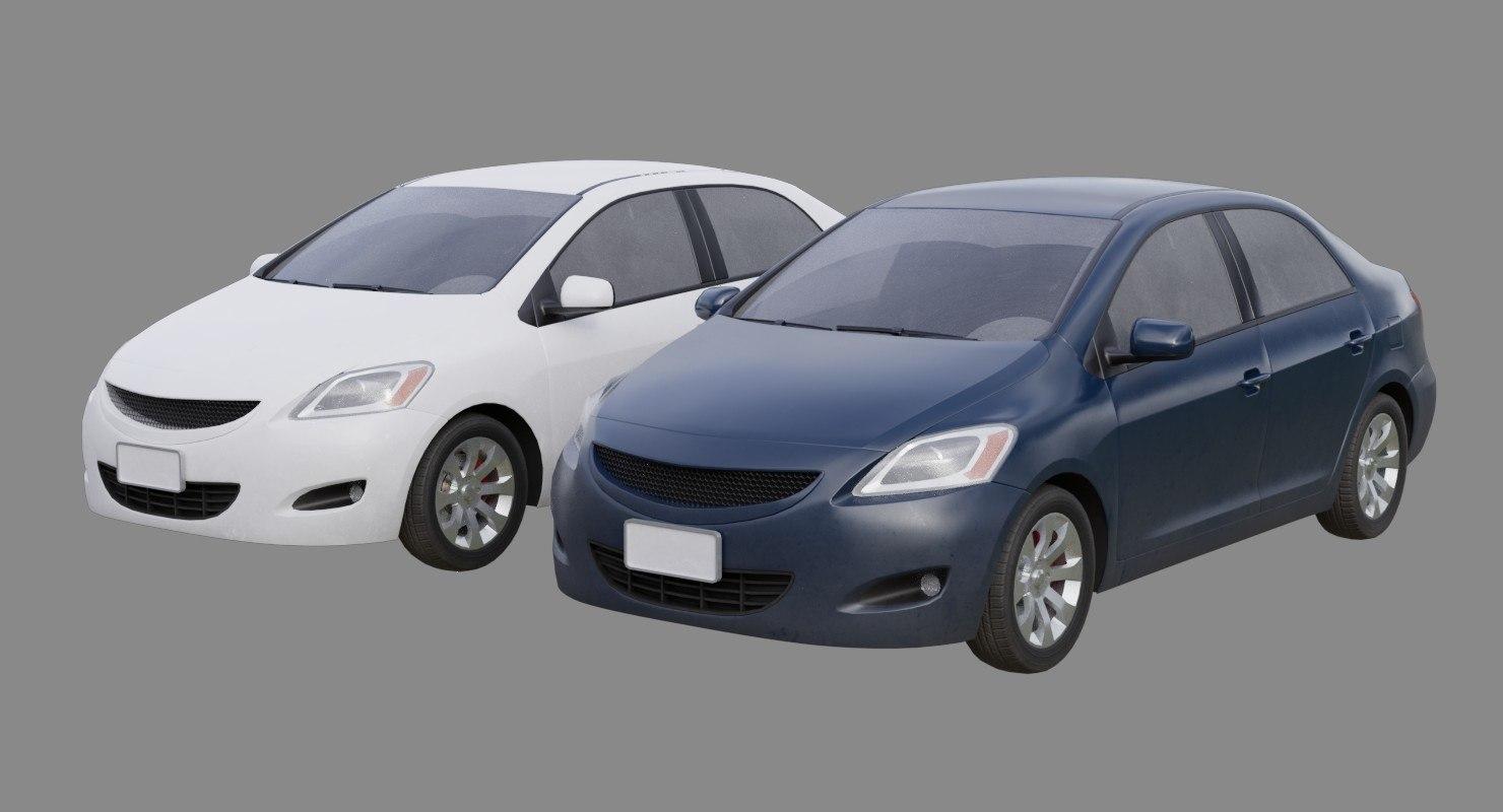 3D car generic 1b