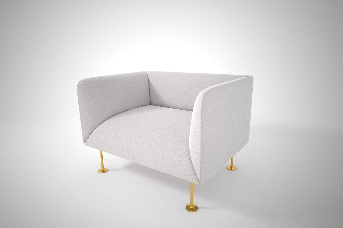 furnishings furniture sofa 3D model