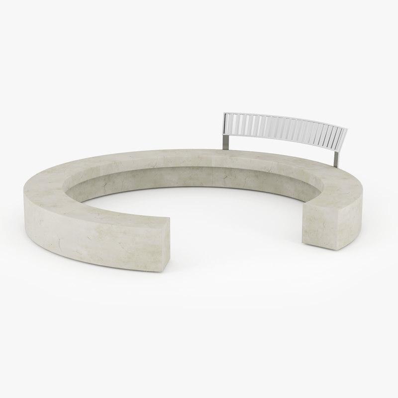 urban furniture 3D