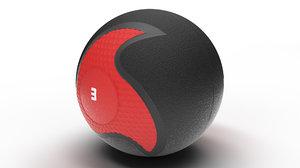 3D heavymed medecine ball