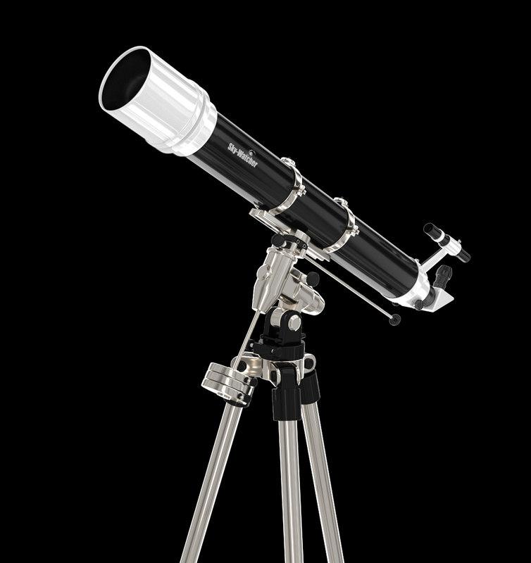 astronomy science telescope 3D