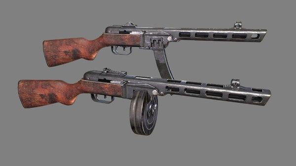 3D model soviet fully disassembled modelled