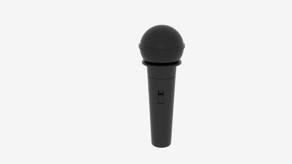 3D base microphone