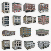 15 Apartment Building Collection