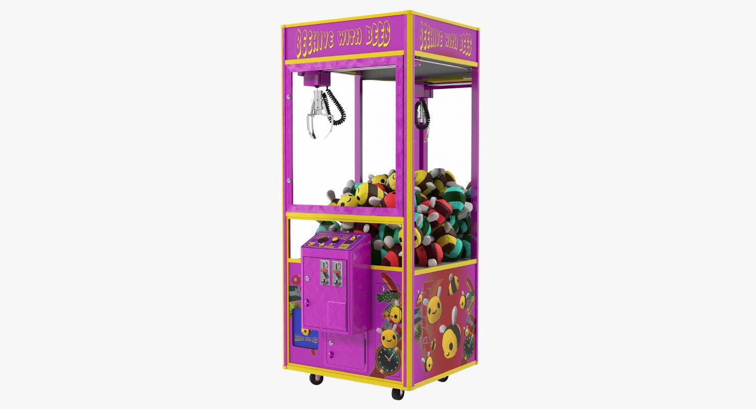 claw vending machine toys 3D model