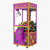 claw vending machine toys 3D model