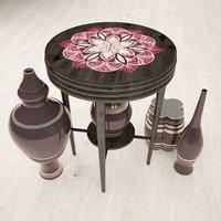 vase table 3D model