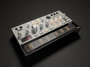3D model korg volca bass